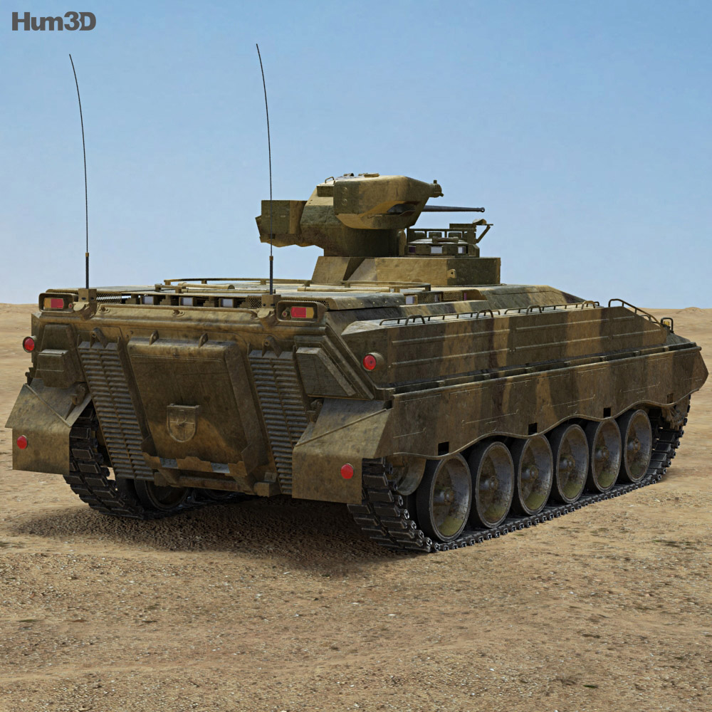 Marder IFV 3d model