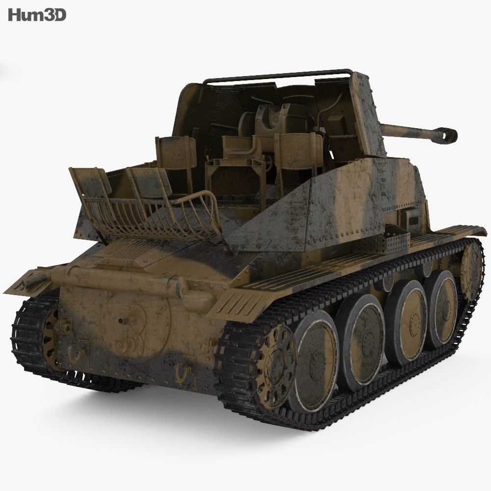 Marder III 3d model