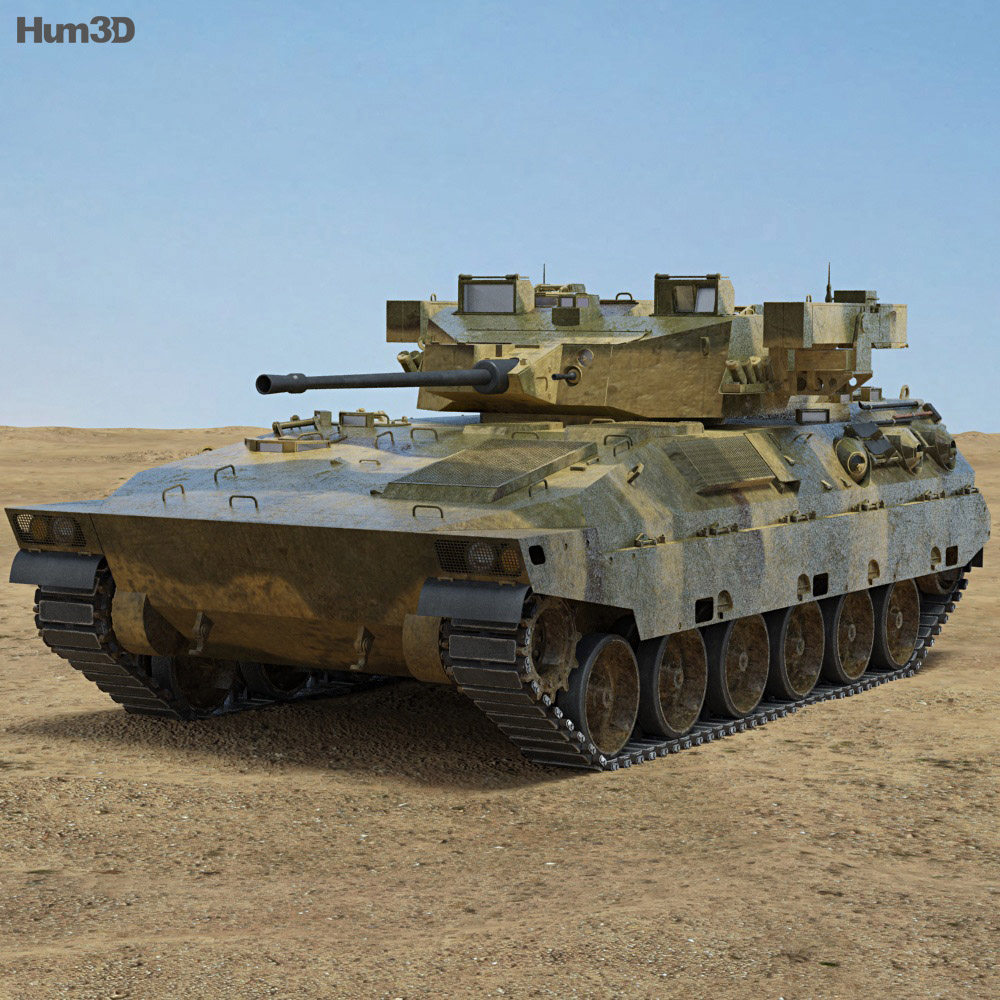 Mitsubishi Type 89 IFV 3d model