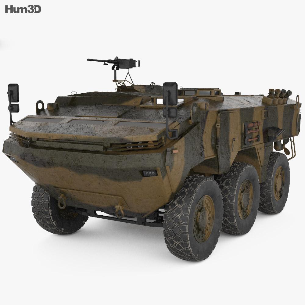 Otokar Arma 3d model