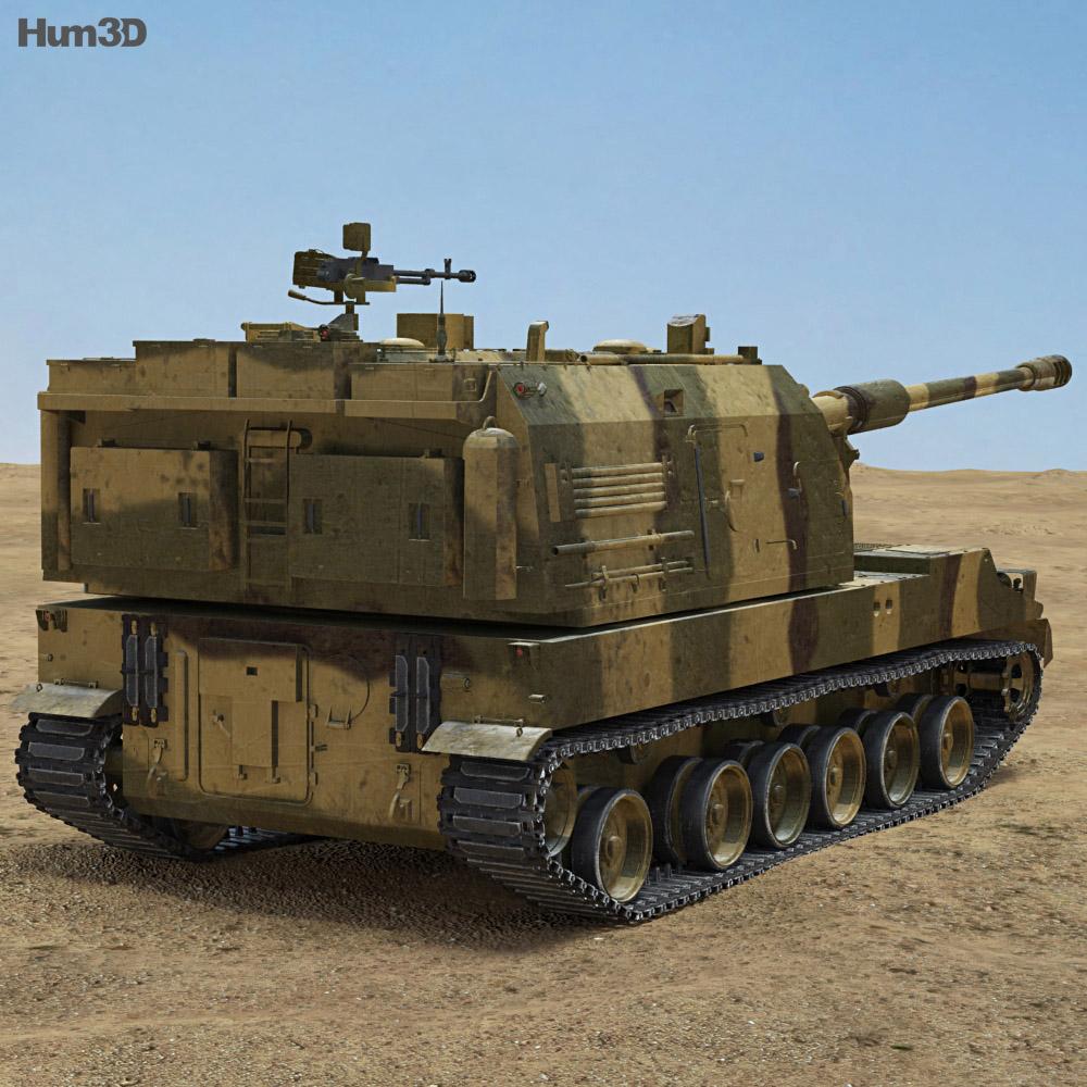 PLZ-05 Self-propelled Howitzer 3d model