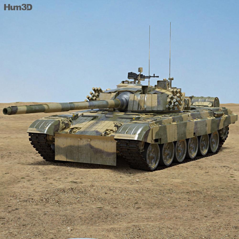 PT-91 Twardy 3d model