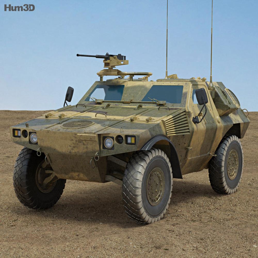 Panhard VBL 3d model