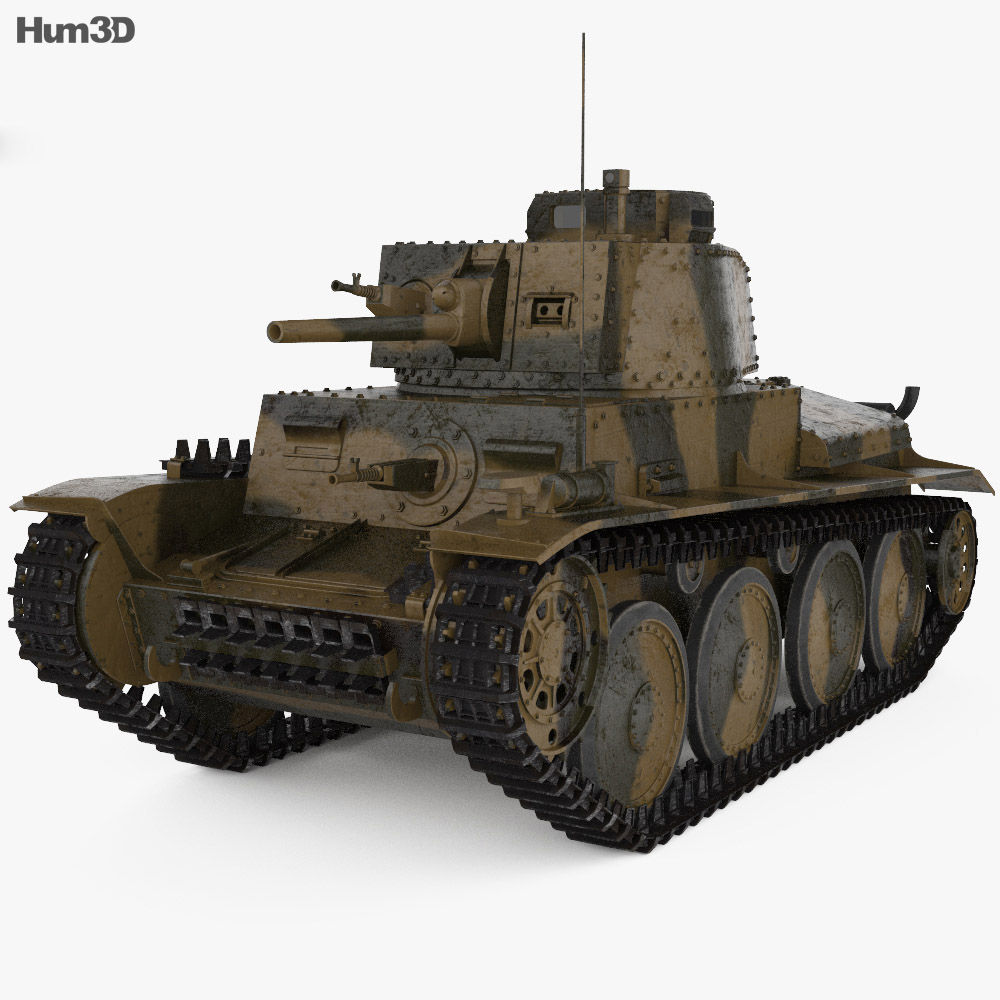Panzer 38(t) 3d model