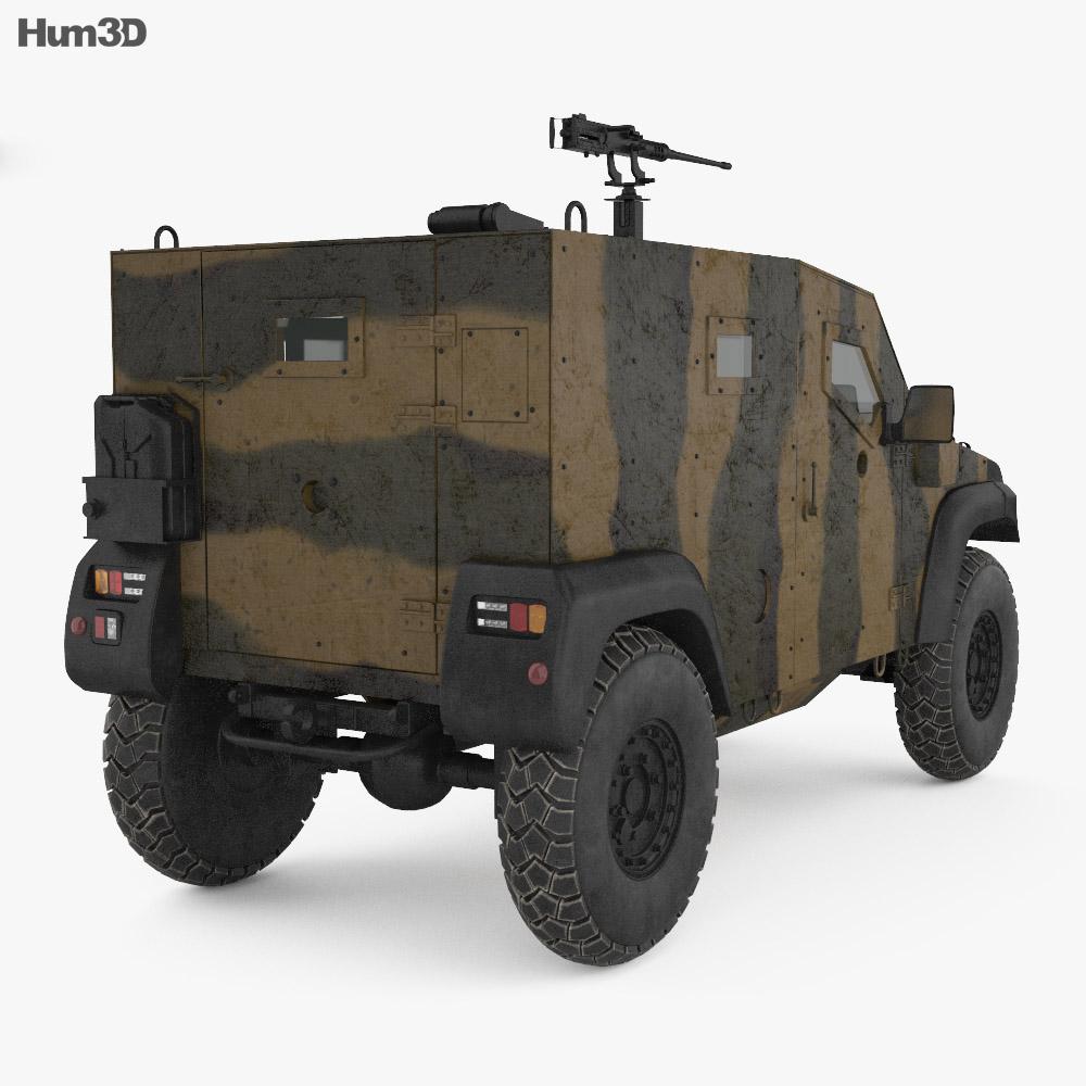 Petit Vehicule Protege 3d model