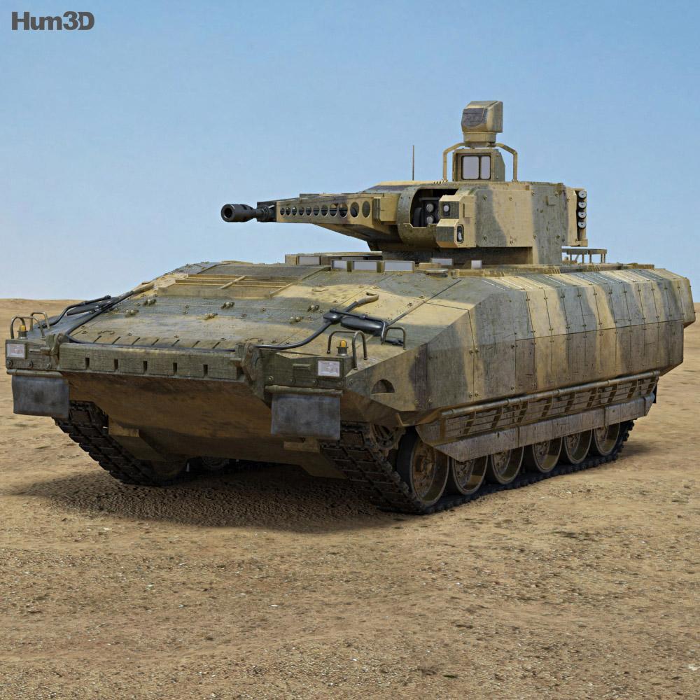 Puma (IFV) 3d model