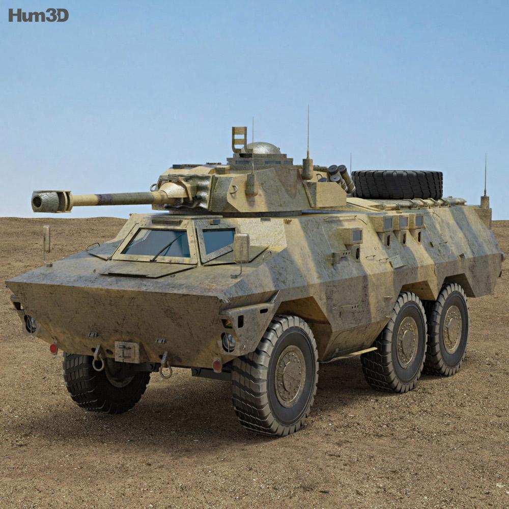 Ratel IFV 3d model