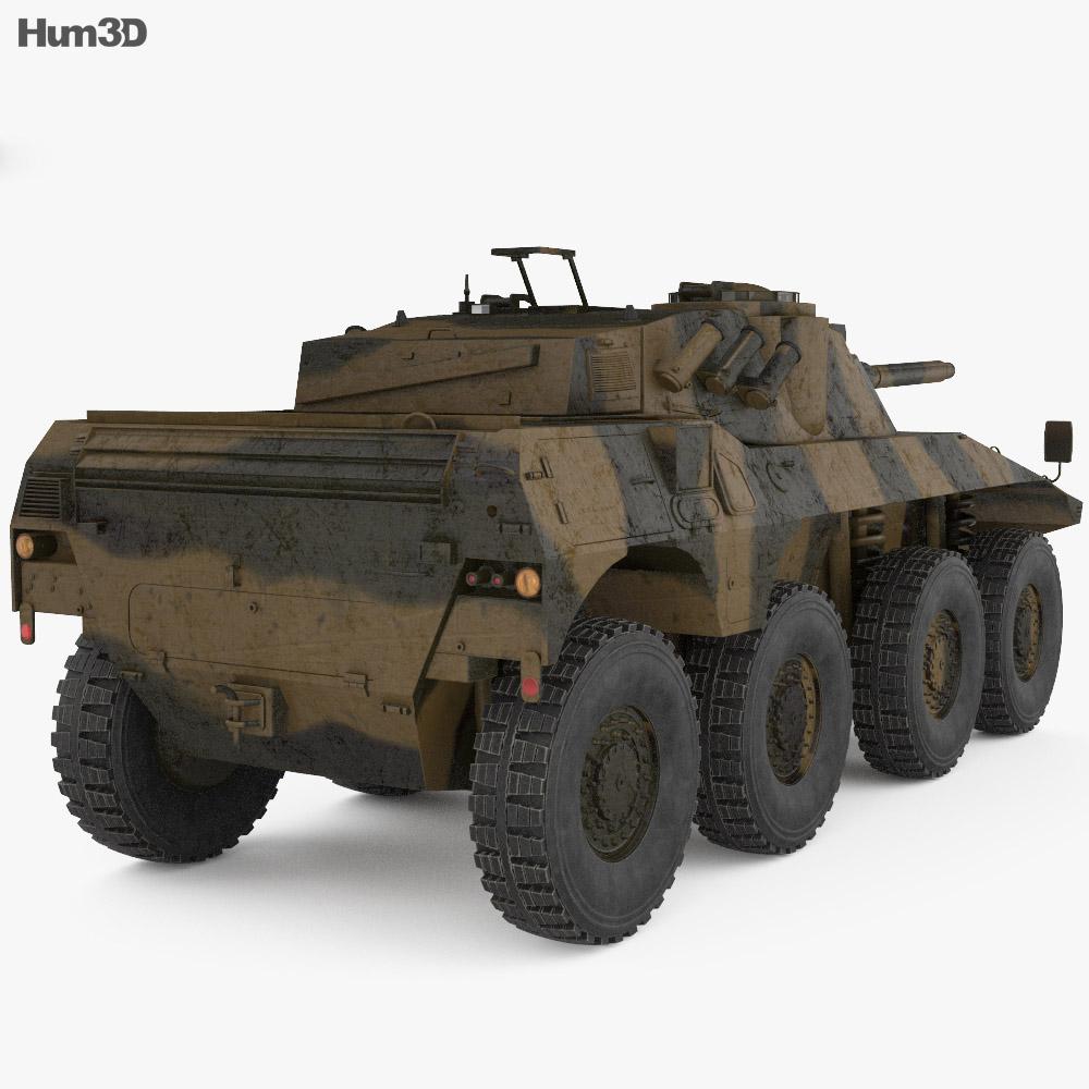 Rooikat 3d model
