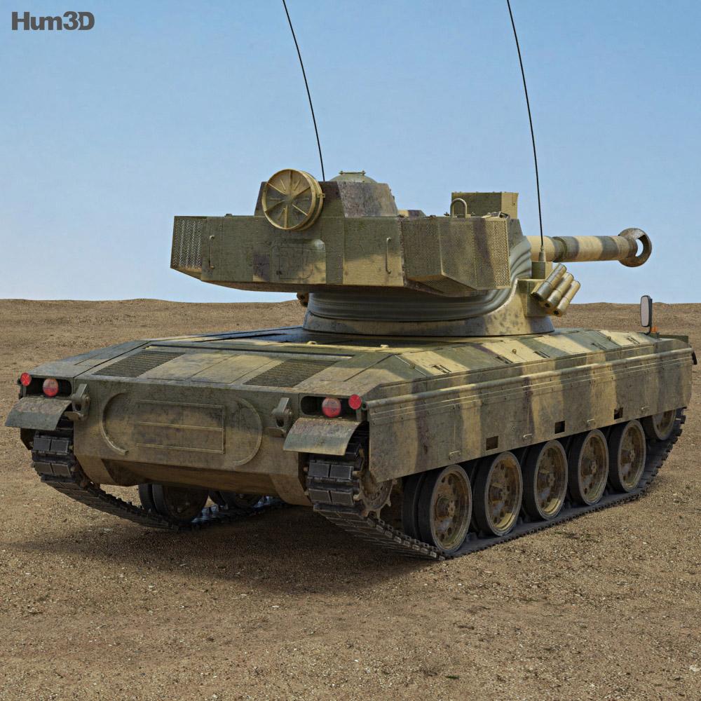 SK-105 Kurassier 3d model
