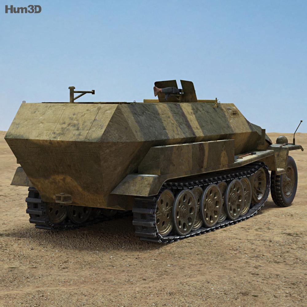 Sd.Kfz. 251 3d model