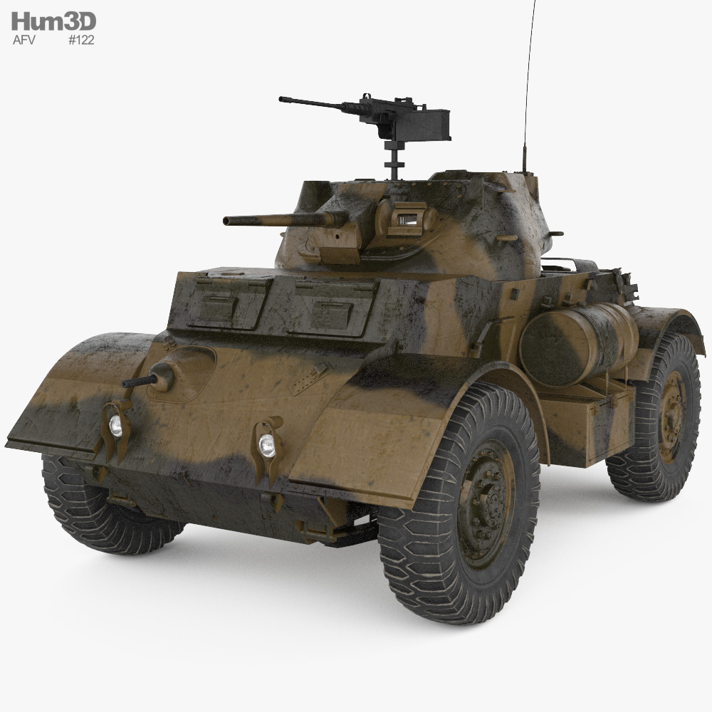 T17E1 Staghound 3d model