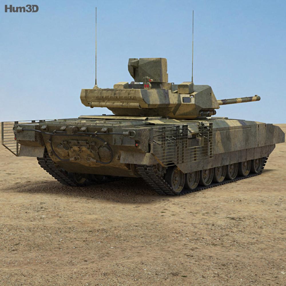 T-14 Armata 3d model