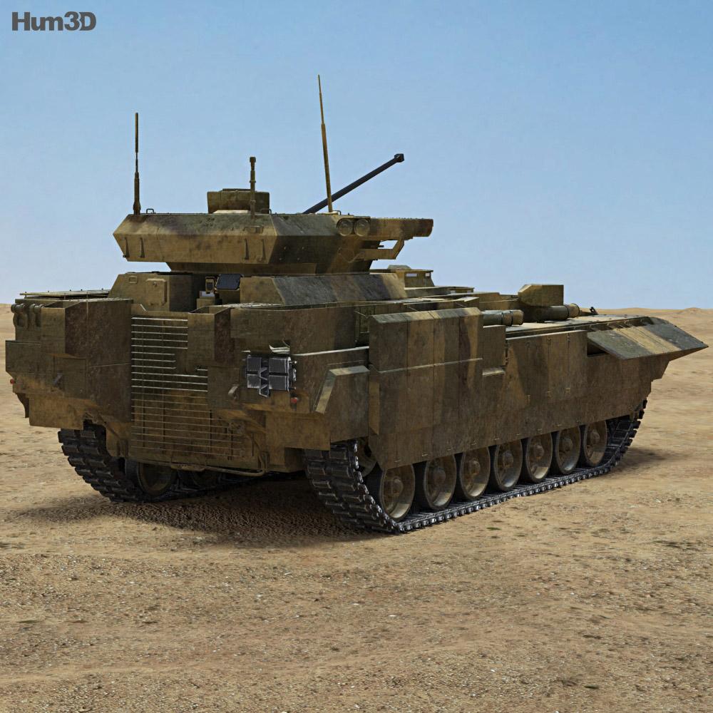 T-15 Armata 3d model