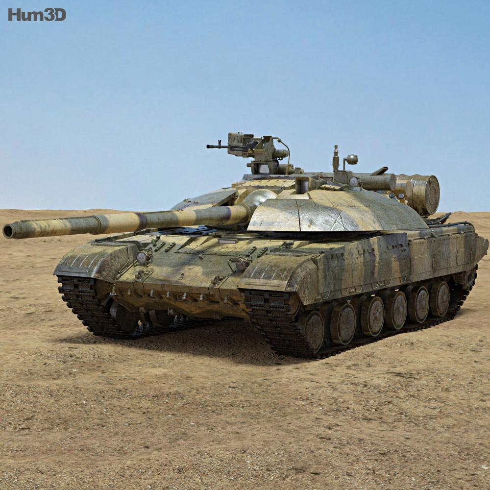 T-64BM Bulat 3d model