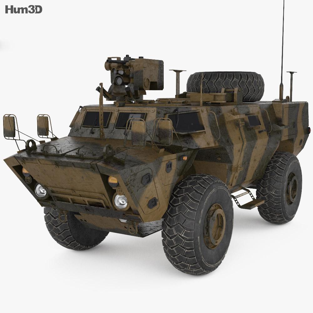 Textron TAPV 3d model