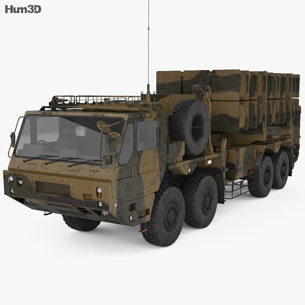 Type 03 Chu-SAM 3d model