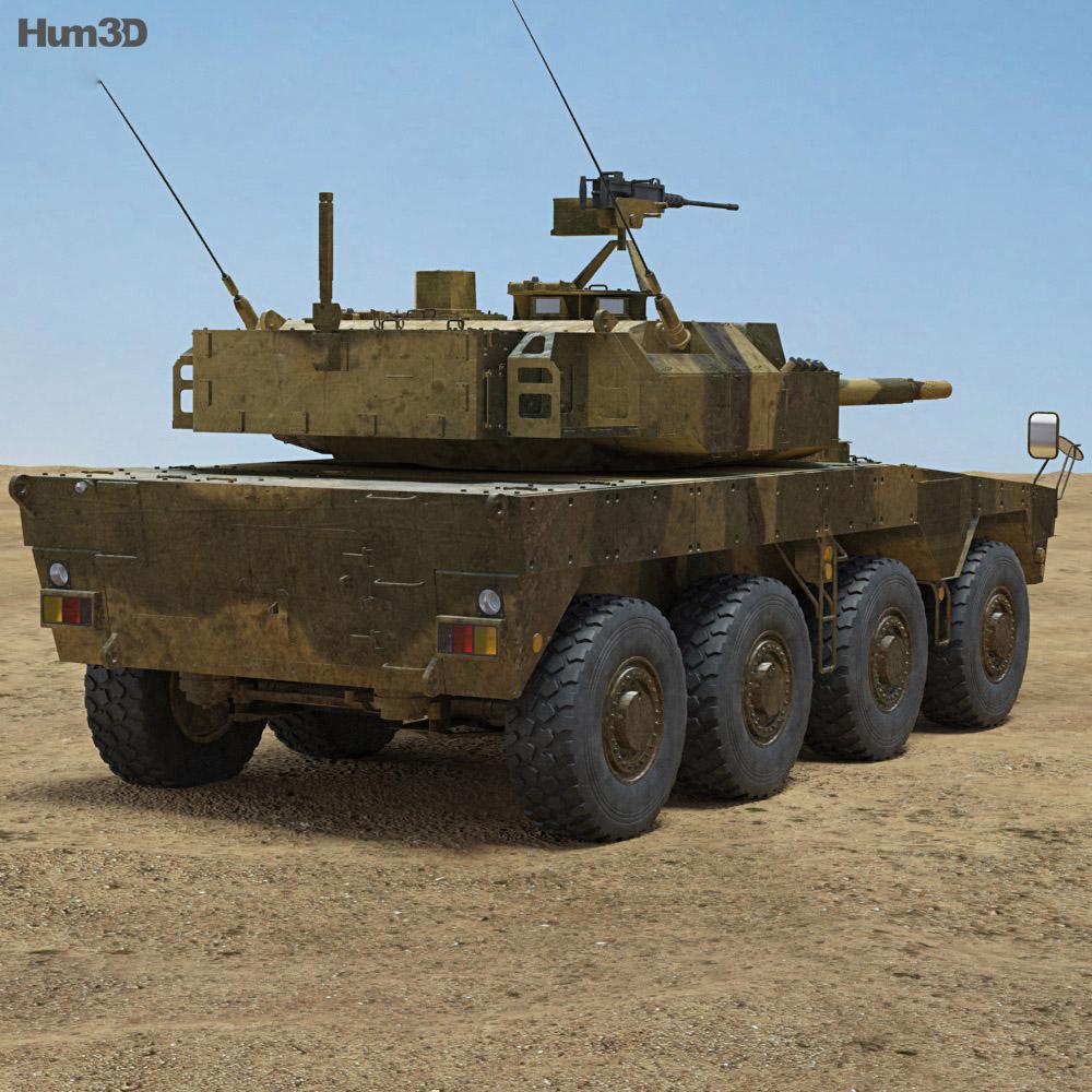 Type 16 MCV 3d model