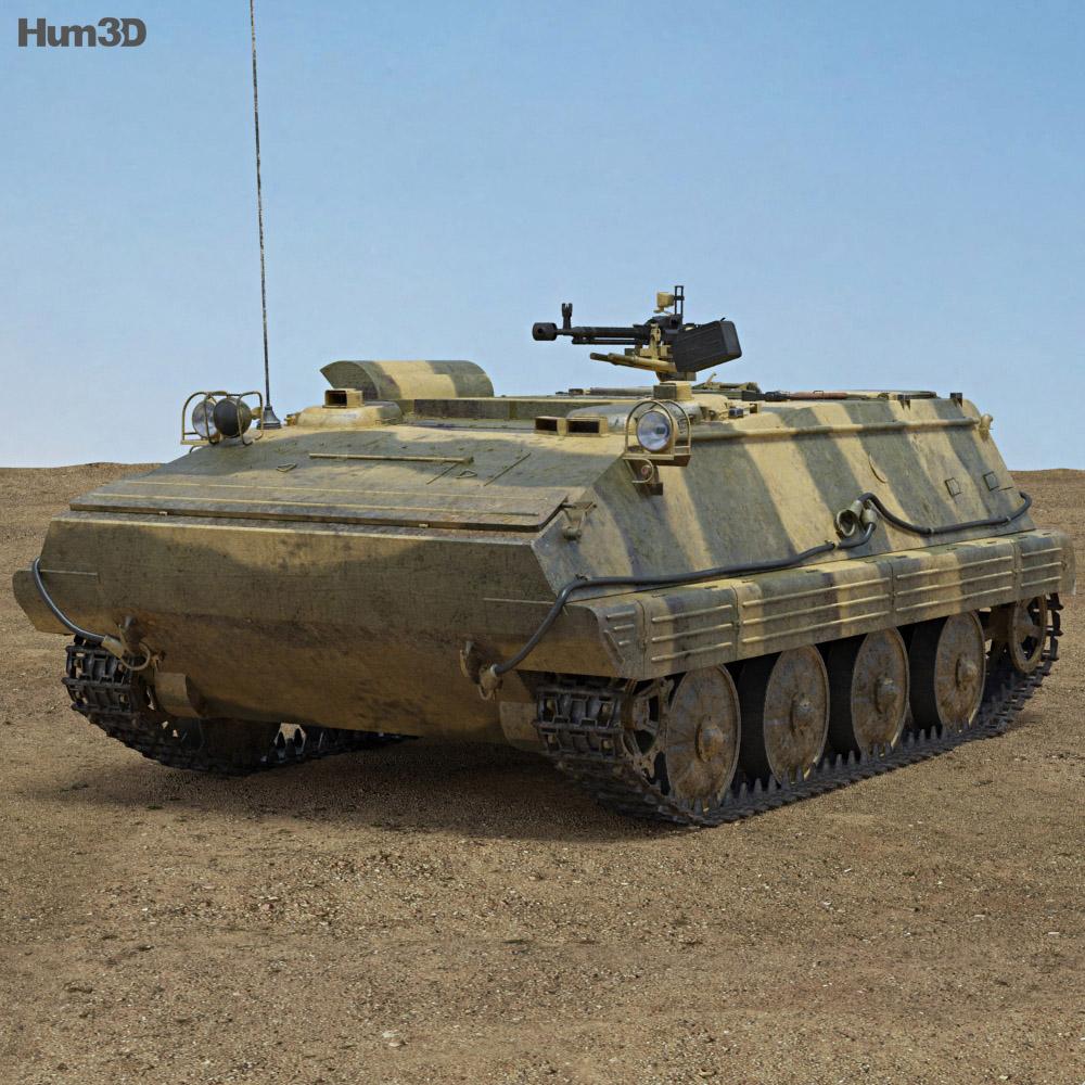 Type 63 APC 3d model