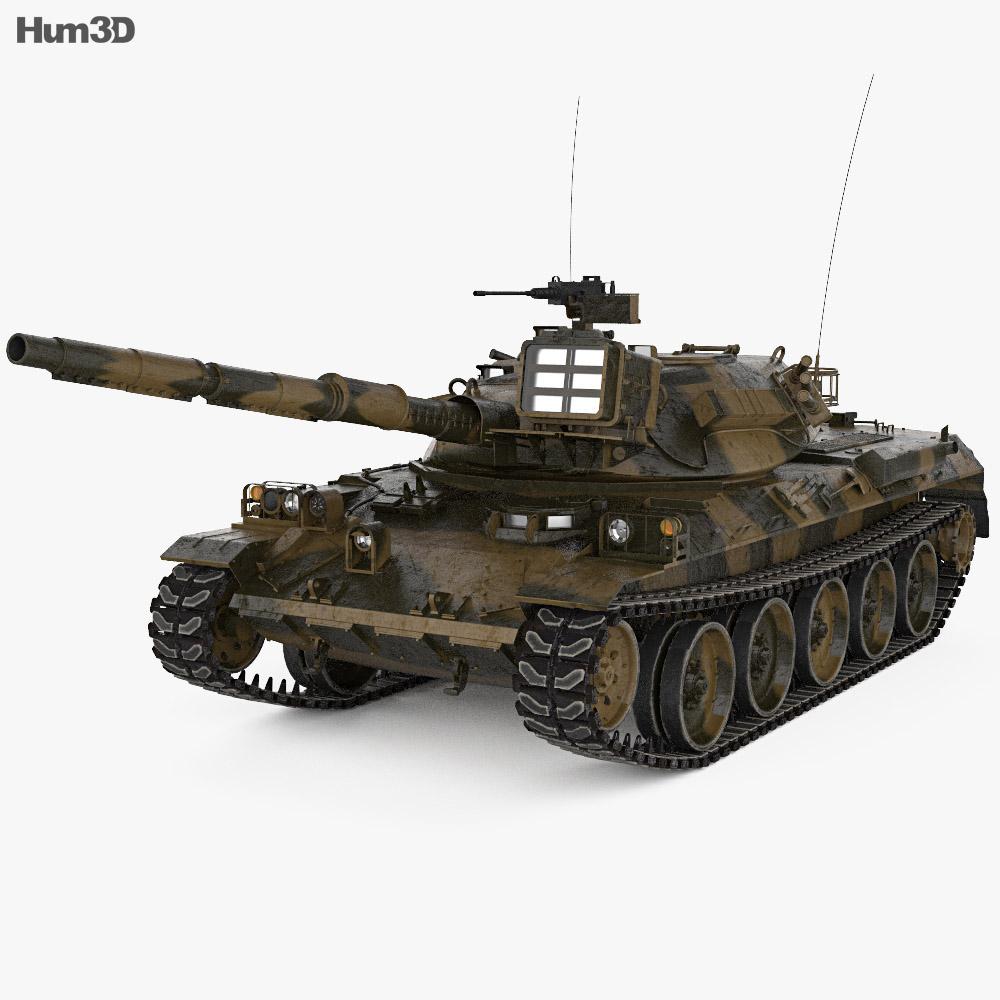 Type 74 3d model