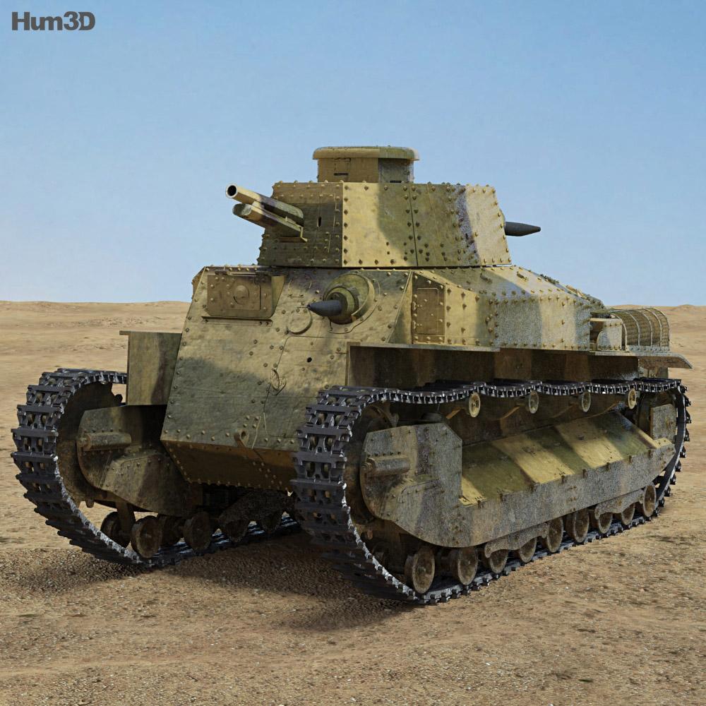 Type 89 I Go 3d model