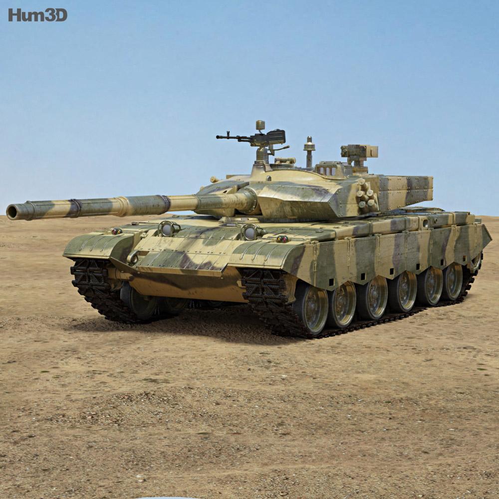 Type 99 3d model