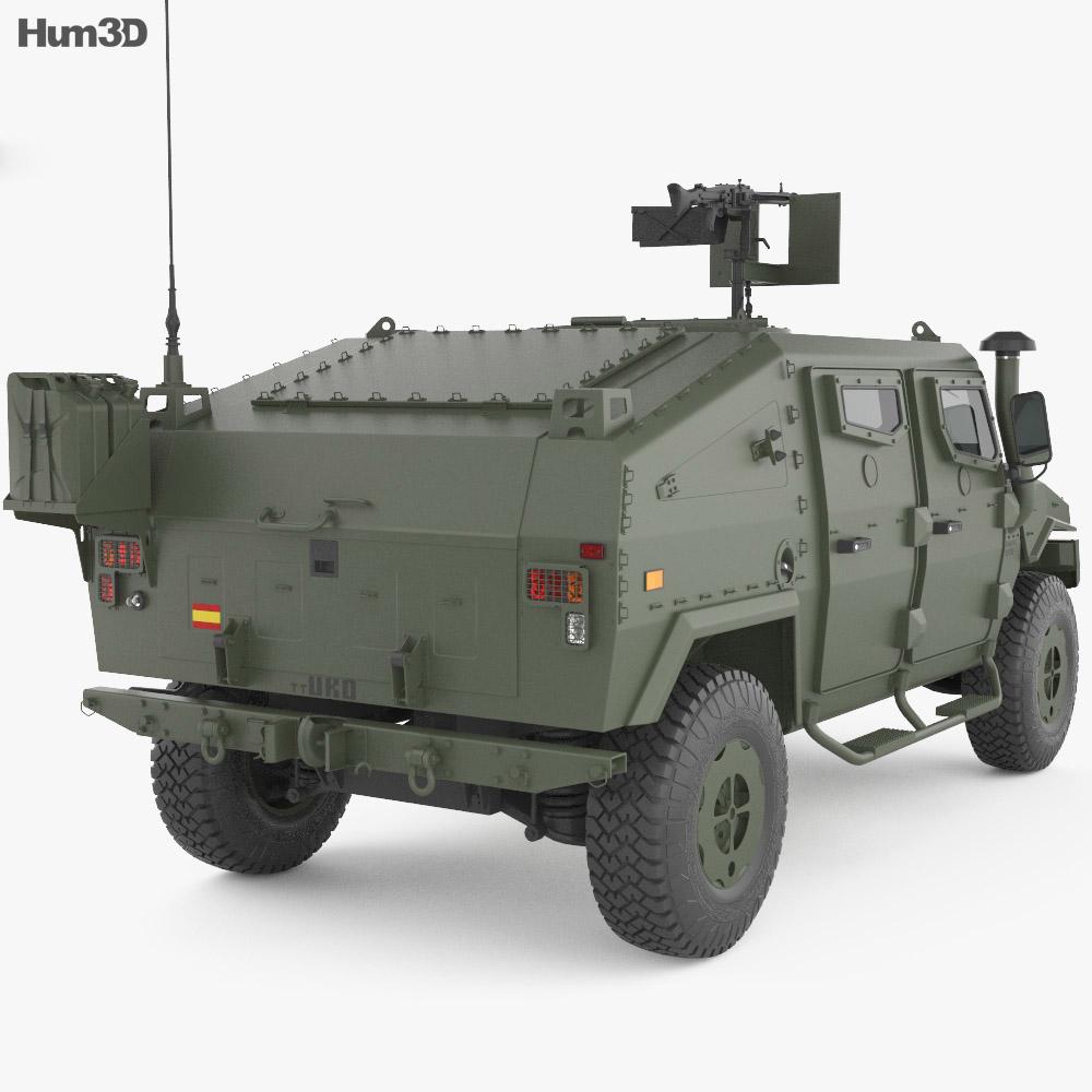 URO VAMTAC ST5 3d model