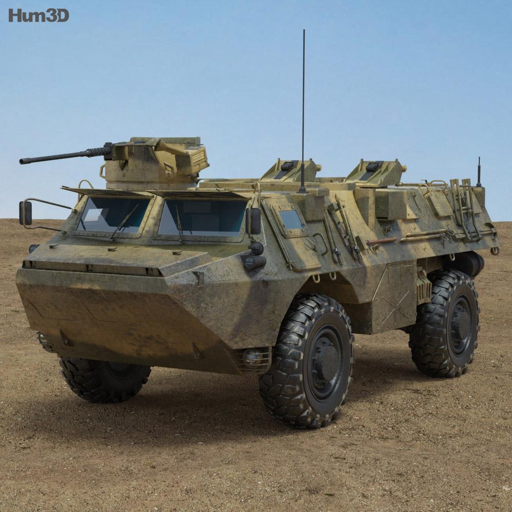 VAB APC 3d model