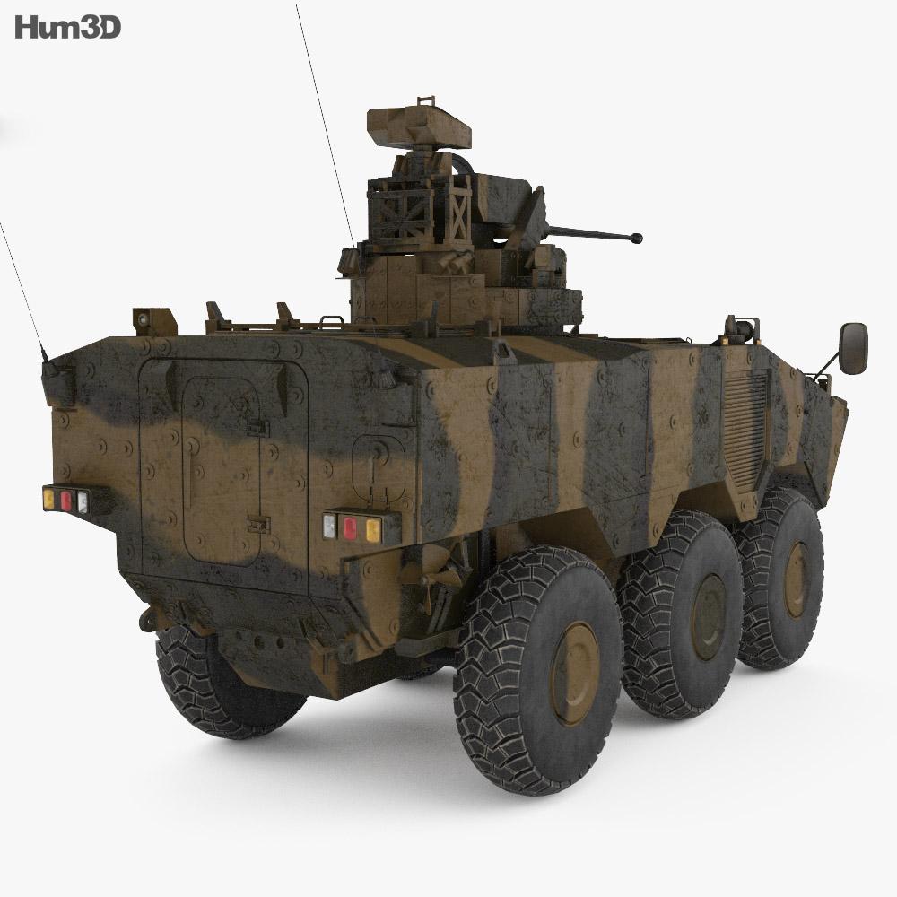 VBTP-MR Guarani 3d model