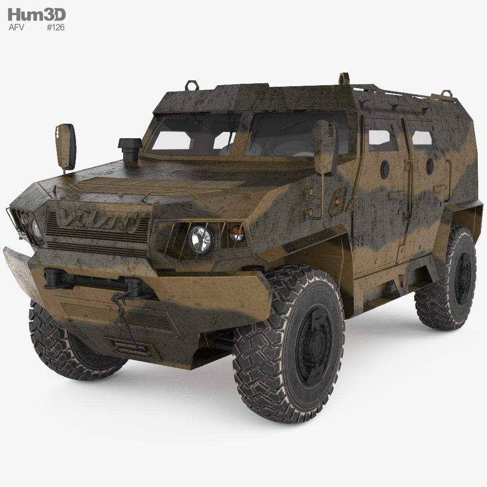 Volat V1 3D-Modell