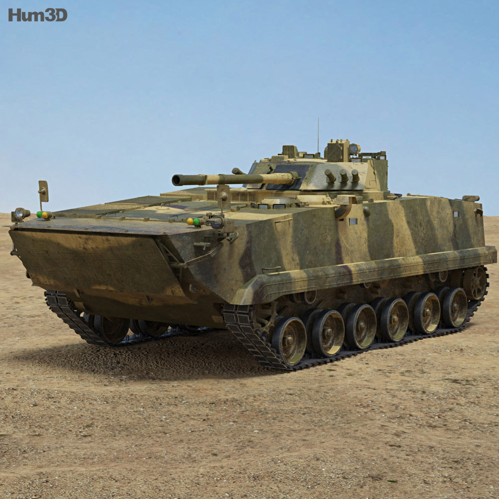 ZBD-97 3d model