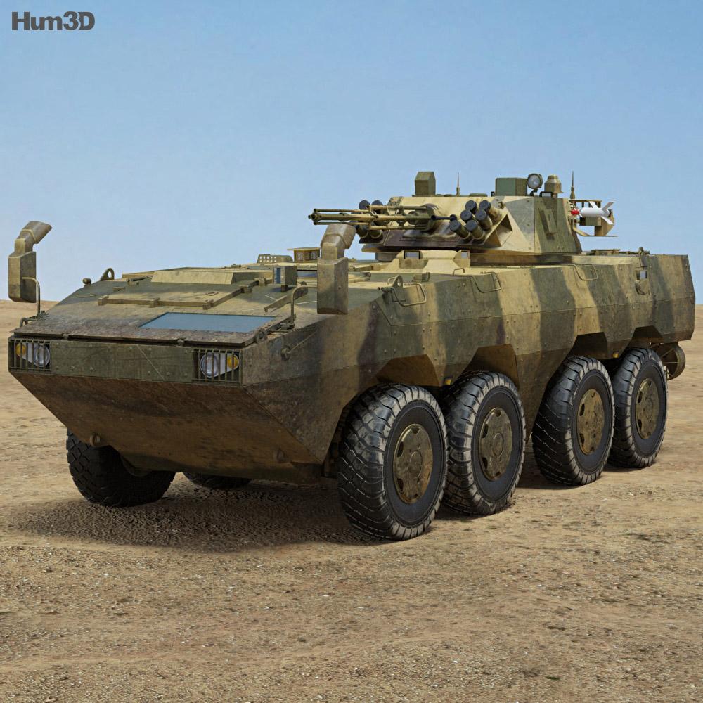ZBL-09 IFV 3d model