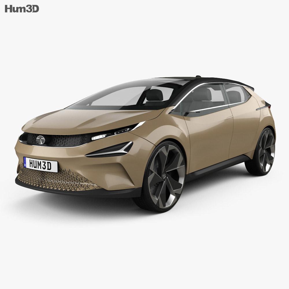 Tata 45X 2018 3d model