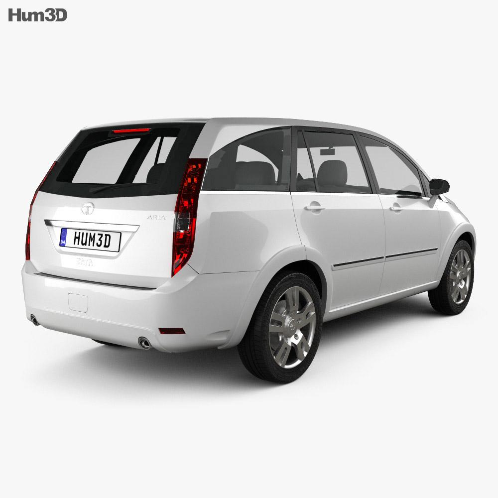 Tata Aria 2010 3d model