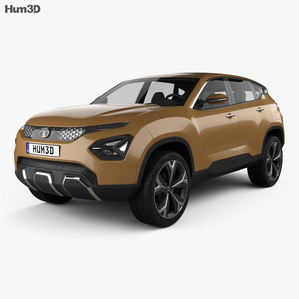 Tata H5X 2018 3d model