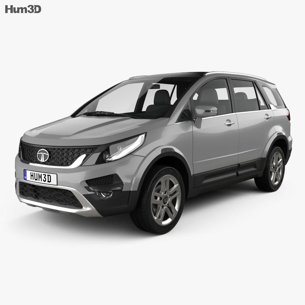 Tata Hexa 2016 3d model