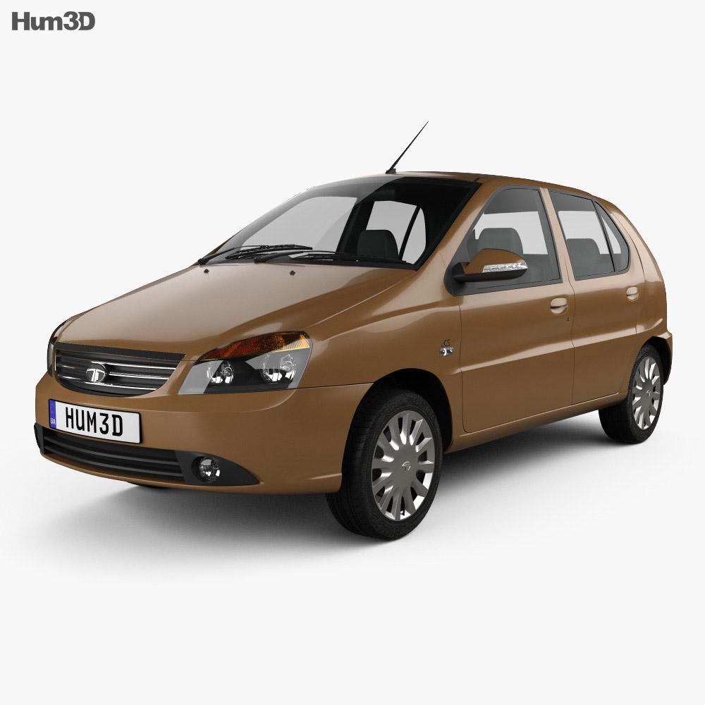 Tata Indica 2017 3d model