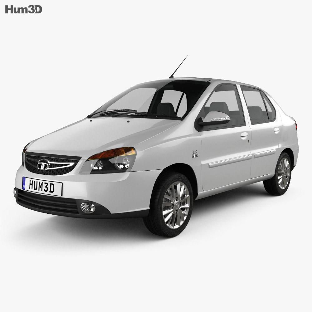 Tata Indigo 2017 3d model