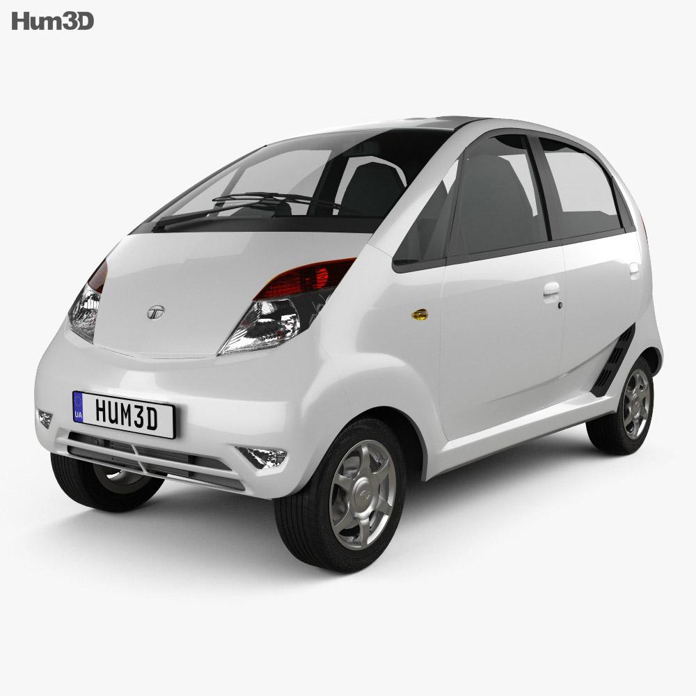 Tata Nano 2011 3d model