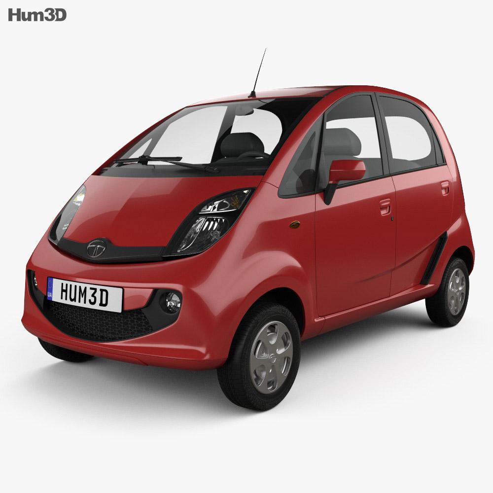 Tata Nano GenX 2015 3d model