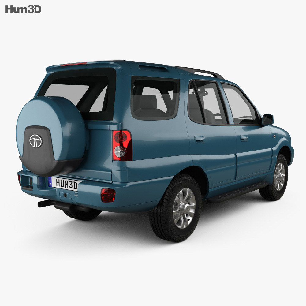 Tata Safari 2009 3d model