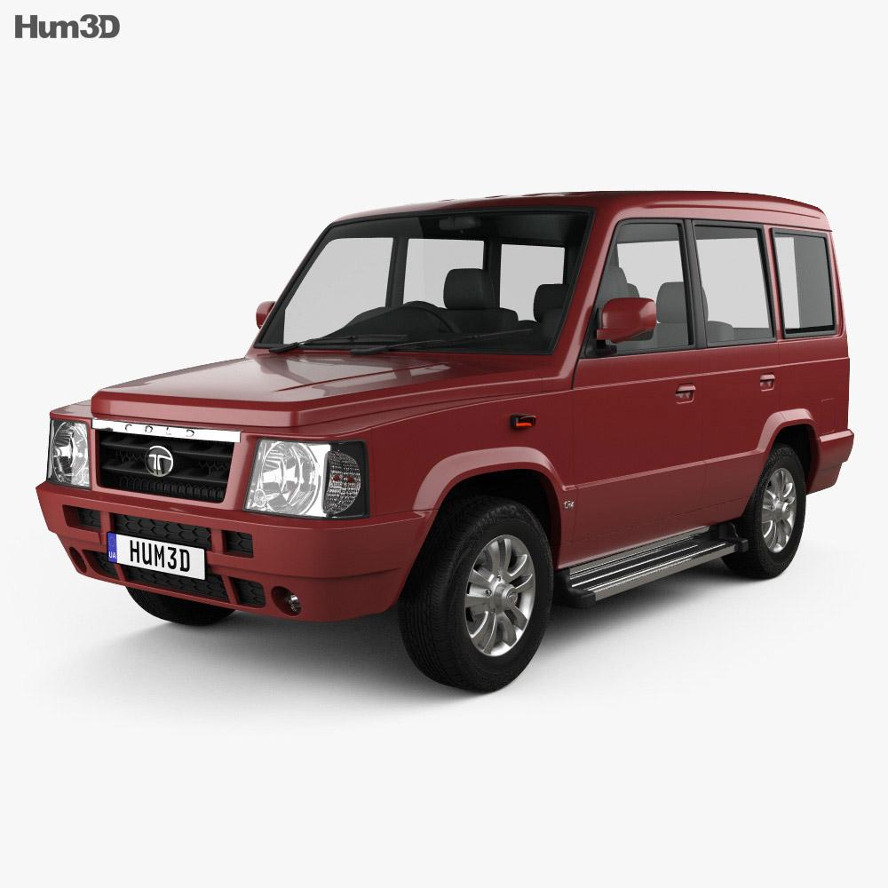 Tata Sumo Gold 2017 3d model