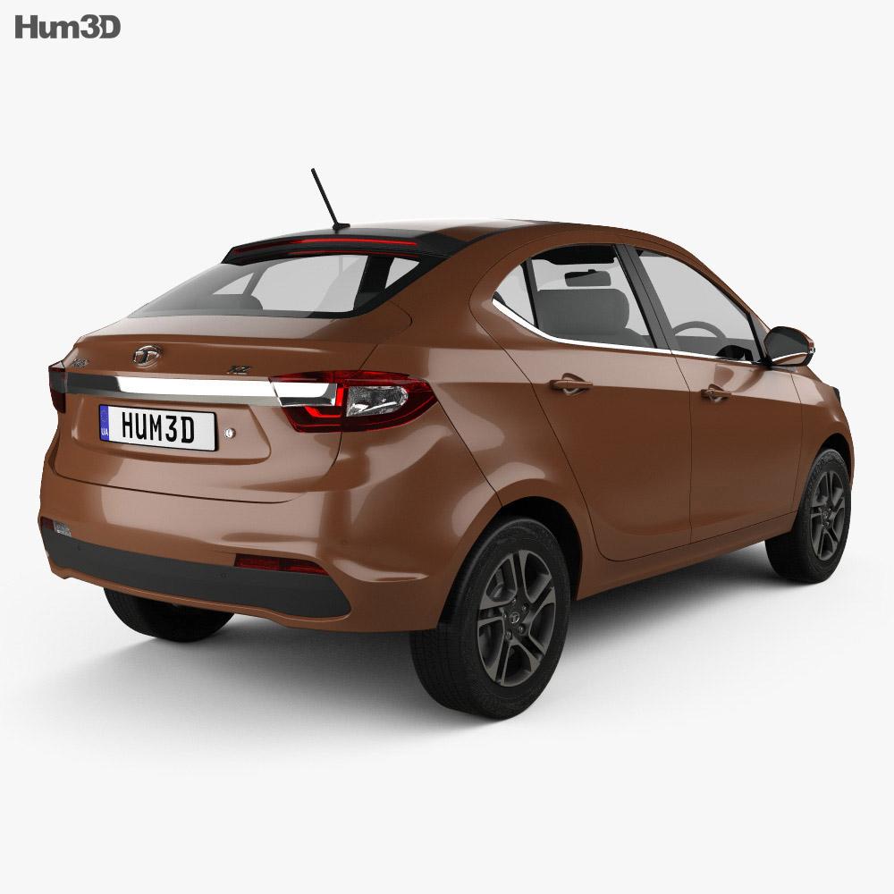Tata Tigor 2017 3d model