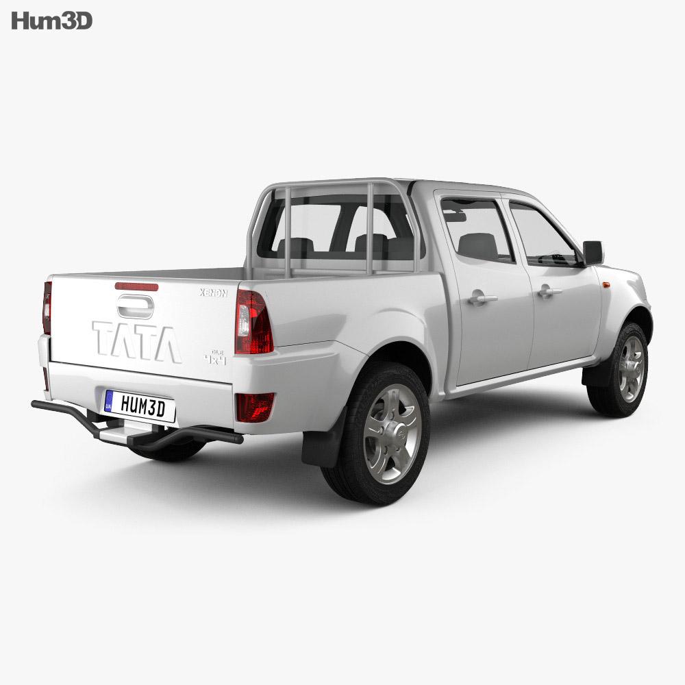 Tata Xenon Double Cab 2008 3d model