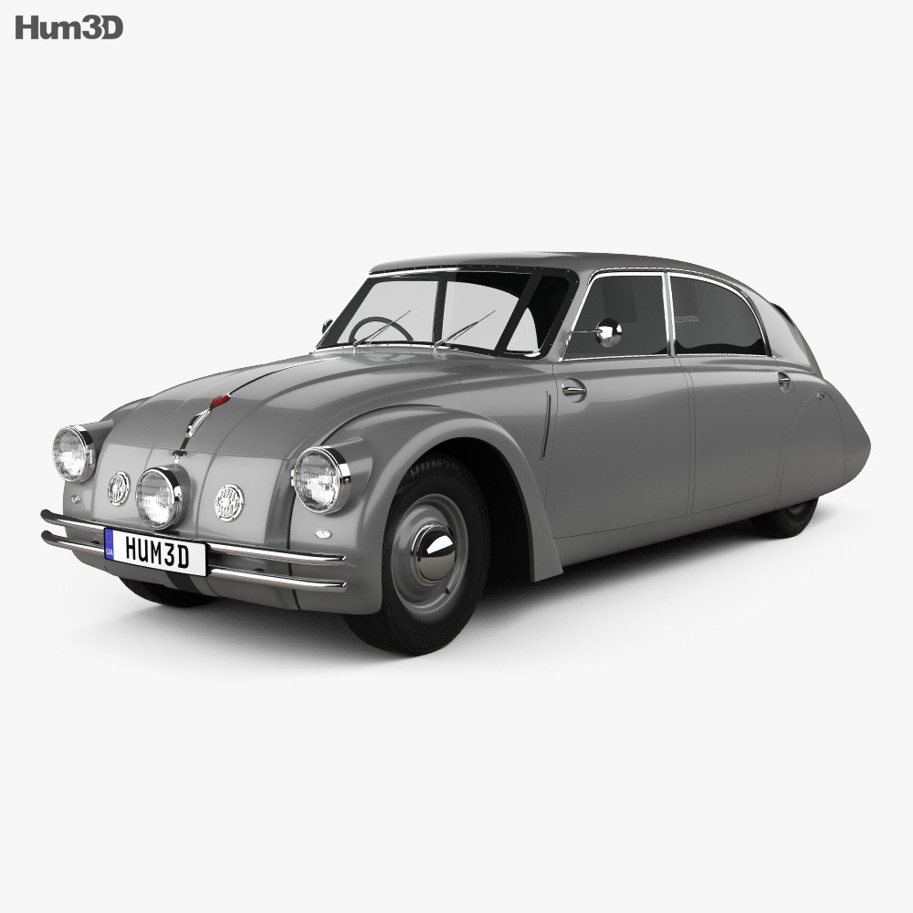 3D model of Tatra 77a 1937