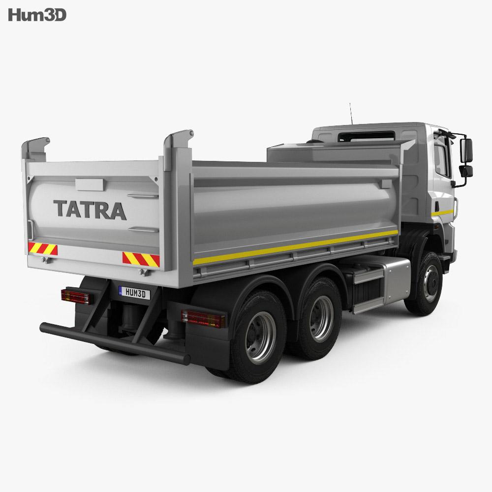 Tatra Phoenix T158 Tipper Truck 3-axle 2014 3d model