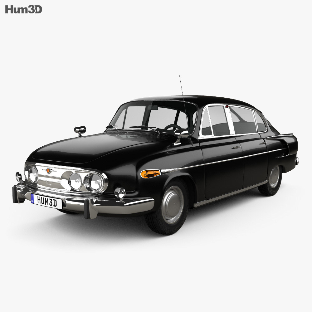 3D model of Tatra T603 1968