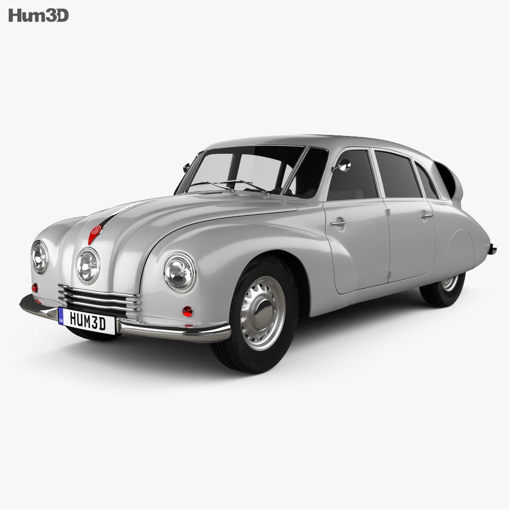 3D model of Tatra T87 1947