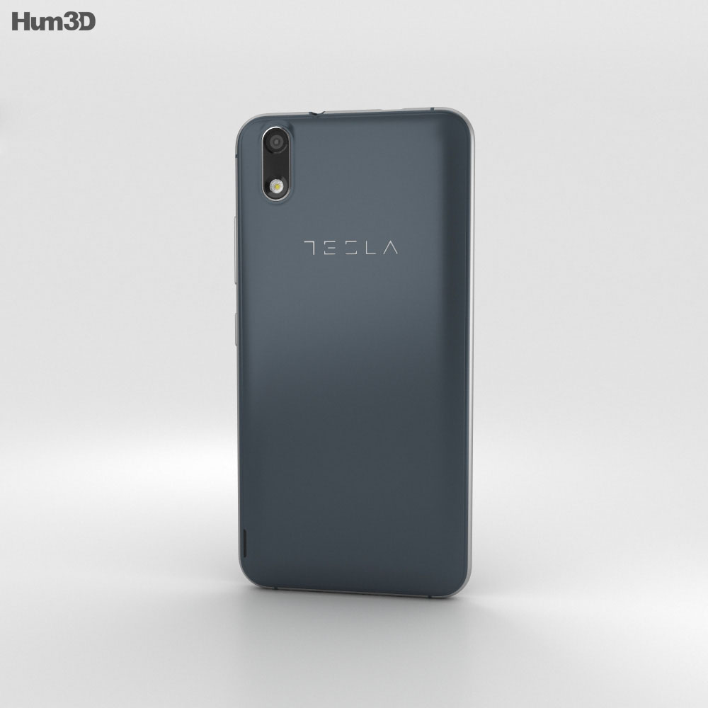 Tesla 6.1 Dark Blue 3d model