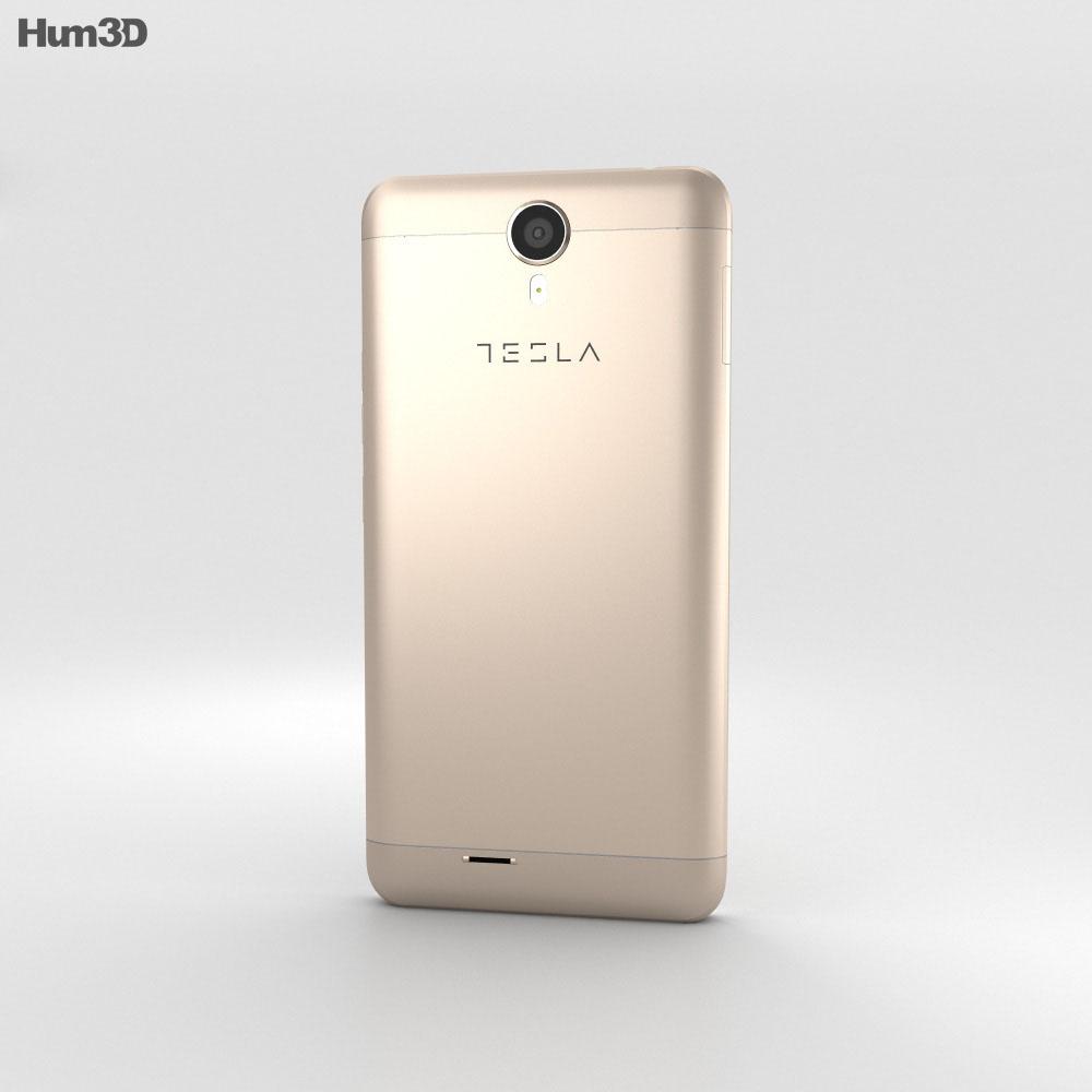 Tesla 6.2 Gold 3d model