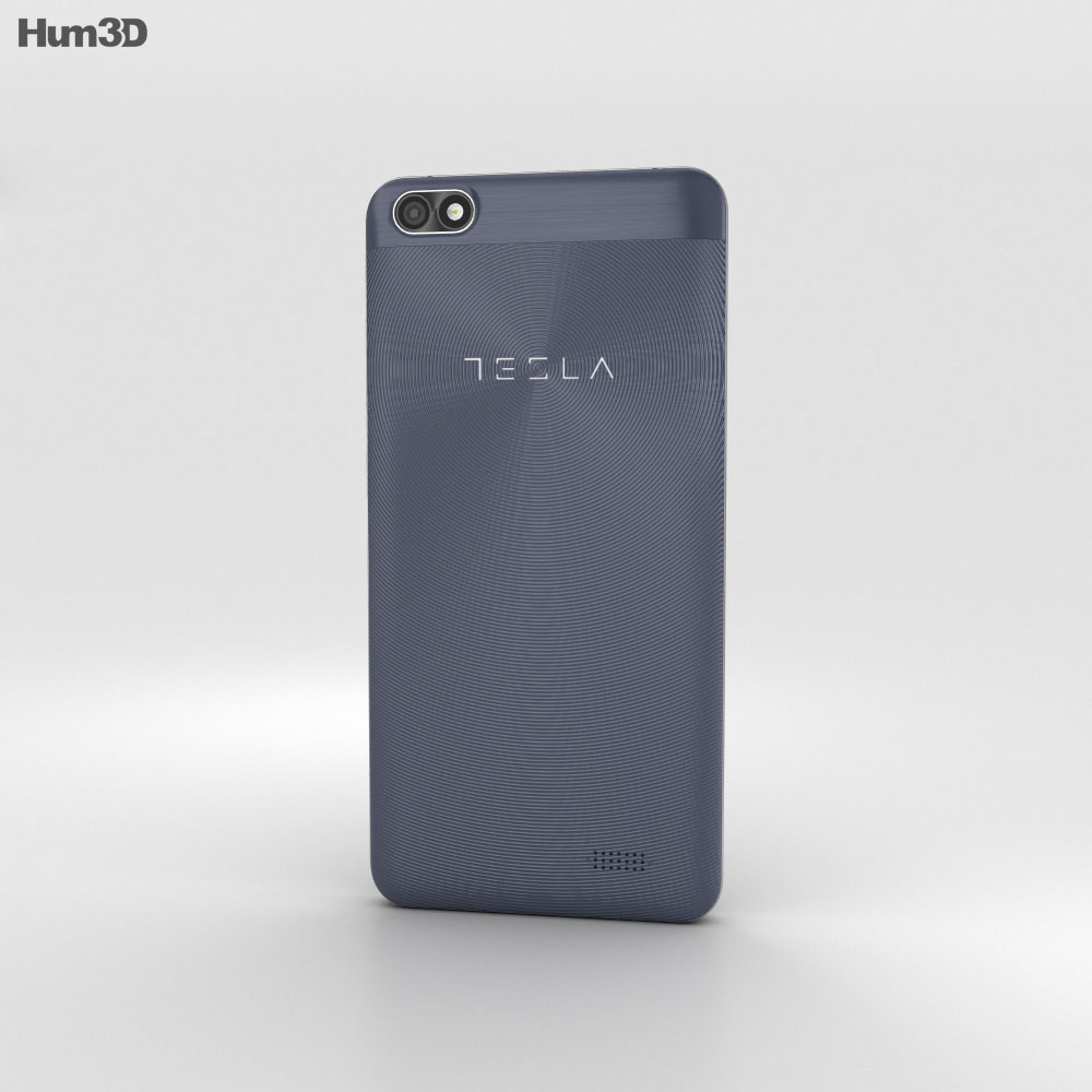 Tesla 6.2 Lite Dark Blue 3d model